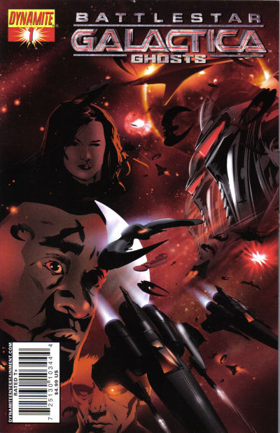 Cover for Battlestar Galactica: Ghosts (Dynamite Entertainment, 2008 series) #1