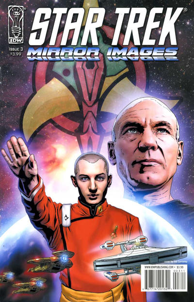 Cover for Star Trek: Mirror Images (IDW, 2008 series) #3