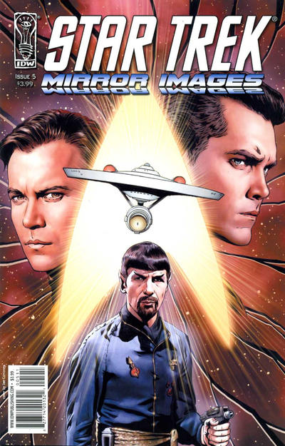 Cover for Star Trek: Mirror Images (IDW, 2008 series) #5