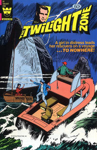 Cover Thumbnail for The Twilight Zone (Western, 1962 series) #92 [Yellow Logo Variant]