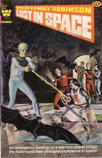Cover Thumbnail for Space Family Robinson, Lost in Space on Space Station One (Western, 1974 series) #58 [Yellow Logo]