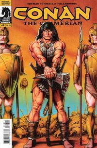Cover Thumbnail for Conan the Cimmerian (Dark Horse, 2008 series) #8 [58]