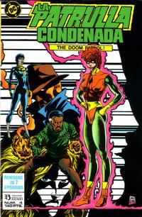 Cover Thumbnail for Patrulla Condenada (Zinco, 1988 series) #4