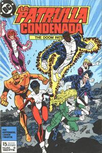 Cover Thumbnail for Patrulla Condenada (Zinco, 1988 series) #8