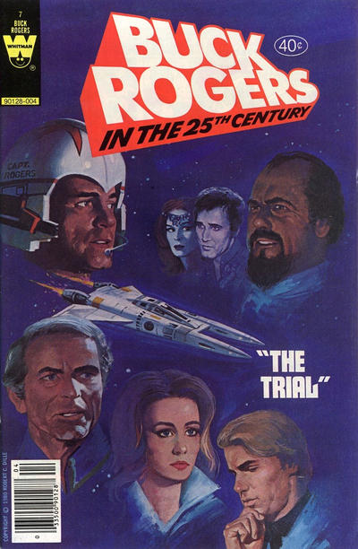 Cover for Buck Rogers in the 25th Century (Western, 1979 series) #7