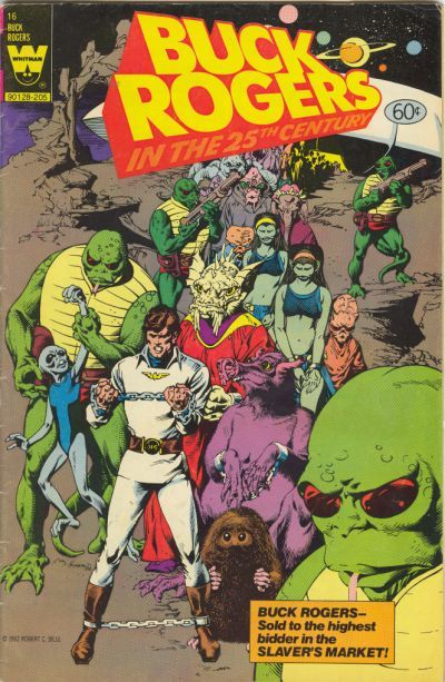 Cover for Buck Rogers in the 25th Century (Western, 1979 series) #16 [Yellow Logo Variant]