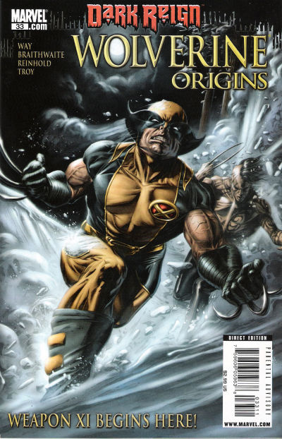 Cover for Wolverine: Origins (Marvel, 2006 series) #33