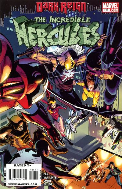 Cover for Incredible Hercules (Marvel, 2008 series) #128 [Wolverine Art Appreciation Variant Edition]