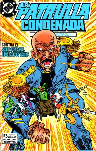 Cover for Patrulla Condenada (Zinco, 1988 series) #16