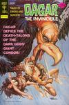 Cover for Tales of Sword and Sorcery Dagar the Invincible (Western, 1972 series) #15 [Gold Key]