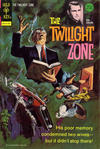 Cover for The Twilight Zone (Western, 1962 series) #55 [Gold Key]