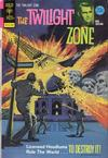 Cover for The Twilight Zone (Western, 1962 series) #56 [Gold Key]