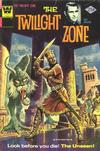 Cover for The Twilight Zone (Western, 1962 series) #65 [Whitman]