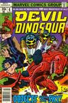 Cover for Devil Dinosaur (Marvel, 1978 series) #4