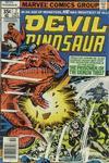 Cover for Devil Dinosaur (Marvel, 1978 series) #7