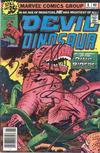 Cover for Devil Dinosaur (Marvel, 1978 series) #8
