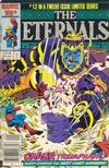 Cover for Eternals (Marvel, 1985 series) #12 [Newsstand]
