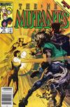 Cover Thumbnail for The New Mutants (1983 series) #30 [newsstand]