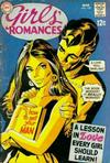 Cover for Girls' Romances (DC, 1950 series) #139