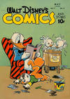 Cover for Walt Disney's Comics and Stories (Dell, 1940 series) #v7#8 (80)