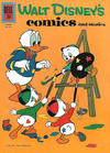 Cover for Walt Disney's Comics and Stories (Dell, 1940 series) #v22#6 (258)
