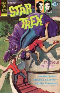 Cover Thumbnail for Star Trek (Western, 1967 series) #40 [Gold Key Variant]