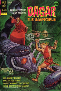 Cover Thumbnail for Tales of Sword and Sorcery Dagar the Invincible (Western, 1972 series) #4