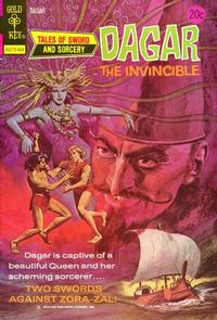 Cover Thumbnail for Tales of Sword and Sorcery Dagar the Invincible (Western, 1972 series) #7 [Gold Key]