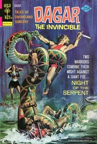 Cover Thumbnail for Tales of Sword and Sorcery Dagar the Invincible (Western, 1972 series) #9 [Gold Key]