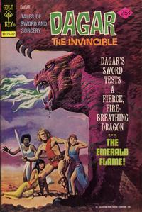 Cover Thumbnail for Tales of Sword and Sorcery Dagar the Invincible (Western, 1972 series) #10 [Gold Key Variant]
