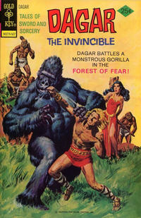 Cover Thumbnail for Tales of Sword and Sorcery Dagar the Invincible (Western, 1972 series) #12