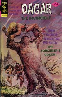 Cover Thumbnail for Tales of Sword and Sorcery Dagar the Invincible (Western, 1972 series) #13 [Gold Key Version]