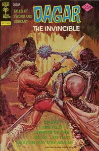 Cover Thumbnail for Tales of Sword and Sorcery Dagar the Invincible (Western, 1972 series) #14 [Gold Key]