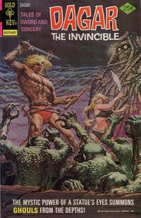 Cover Thumbnail for Tales of Sword and Sorcery Dagar the Invincible (Western, 1972 series) #16