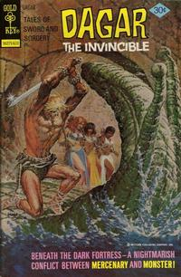 Cover Thumbnail for Tales of Sword and Sorcery Dagar the Invincible (Western, 1972 series) #17 [Gold Key Cover]