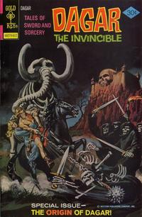 Cover Thumbnail for Tales of Sword and Sorcery Dagar the Invincible (Western, 1972 series) #18 [Gold Key]