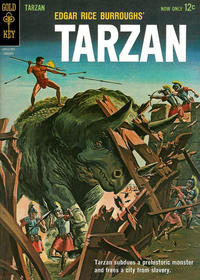 Cover Thumbnail for Edgar Rice Burroughs' Tarzan of the Apes (Western, 1962 series) #133