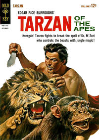 Cover Thumbnail for Edgar Rice Burroughs' Tarzan of the Apes (Western, 1962 series) #139