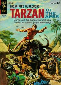 Cover Thumbnail for Edgar Rice Burroughs' Tarzan of the Apes (Western, 1962 series) #141