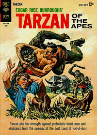 Cover Thumbnail for Edgar Rice Burroughs' Tarzan of the Apes (Western, 1962 series) #142