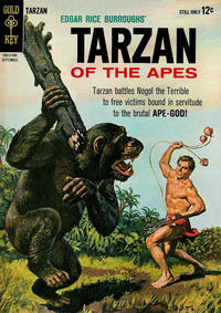 Cover Thumbnail for Edgar Rice Burroughs' Tarzan of the Apes (Western, 1962 series) #145