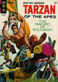 Cover Thumbnail for Edgar Rice Burroughs' Tarzan of the Apes (Western, 1962 series) #148