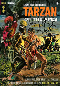Cover Thumbnail for Edgar Rice Burroughs' Tarzan of the Apes (Western, 1962 series) #151