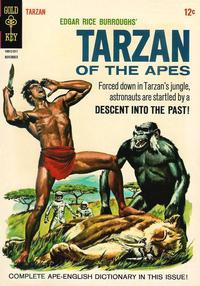 Cover Thumbnail for Edgar Rice Burroughs' Tarzan of the Apes (Western, 1962 series) #154