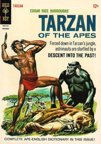Cover Thumbnail for Edgar Rice Burroughs' Tarzan of the Apes (Western, 1962 series) #154