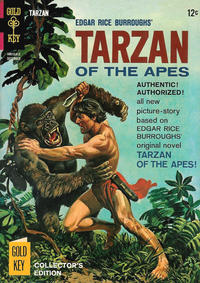 Cover Thumbnail for Edgar Rice Burroughs' Tarzan of the Apes (Western, 1962 series) #155