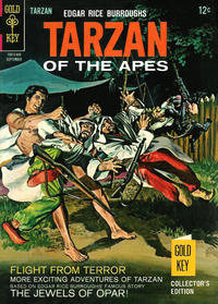Cover Thumbnail for Edgar Rice Burroughs' Tarzan of the Apes (Western, 1962 series) #160