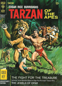 Cover Thumbnail for Edgar Rice Burroughs' Tarzan of the Apes (Western, 1962 series) #161