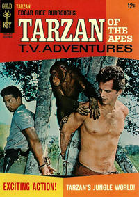 Cover Thumbnail for Edgar Rice Burroughs' Tarzan of the Apes (Western, 1962 series) #162