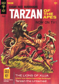 Cover Thumbnail for Edgar Rice Burroughs' Tarzan of the Apes (Western, 1962 series) #164